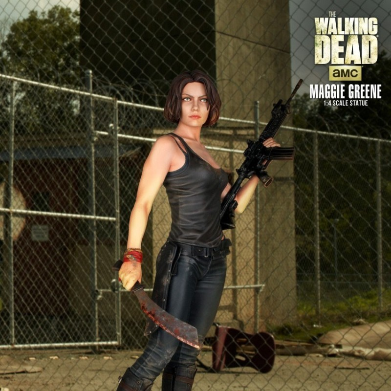 Maggie Greene - The Walking Dead - 1/4 Scale Statue