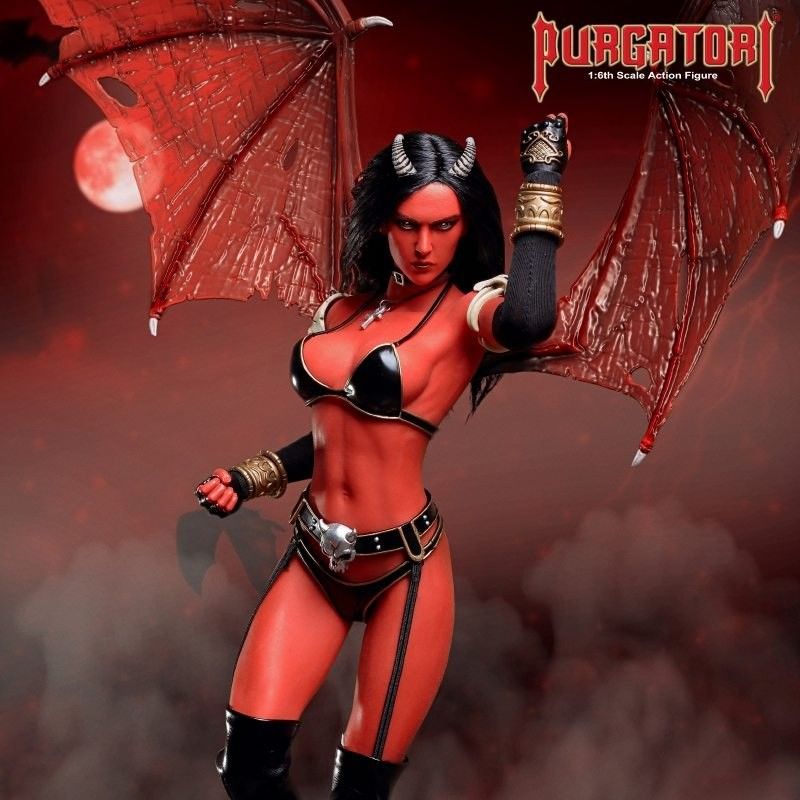 Purgatori - 1/6 Scale Actionfigur