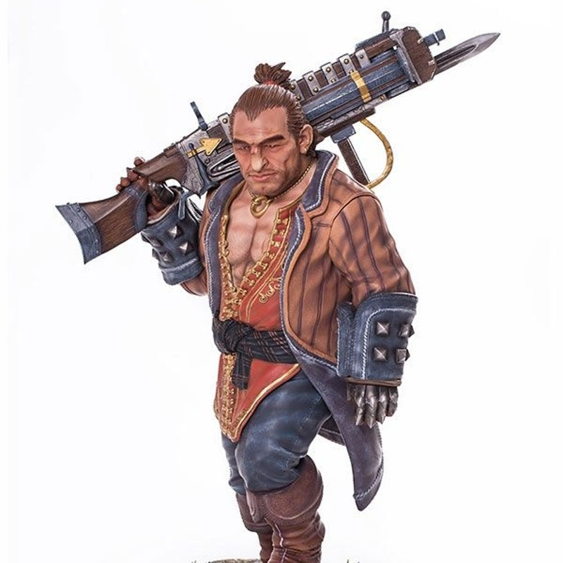 Varric - Dragon Age Inquisition - 1/4 Scale Statue