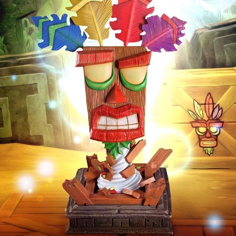 Aku Aku Maske - Crash Bandicoot - Life-Size Replik