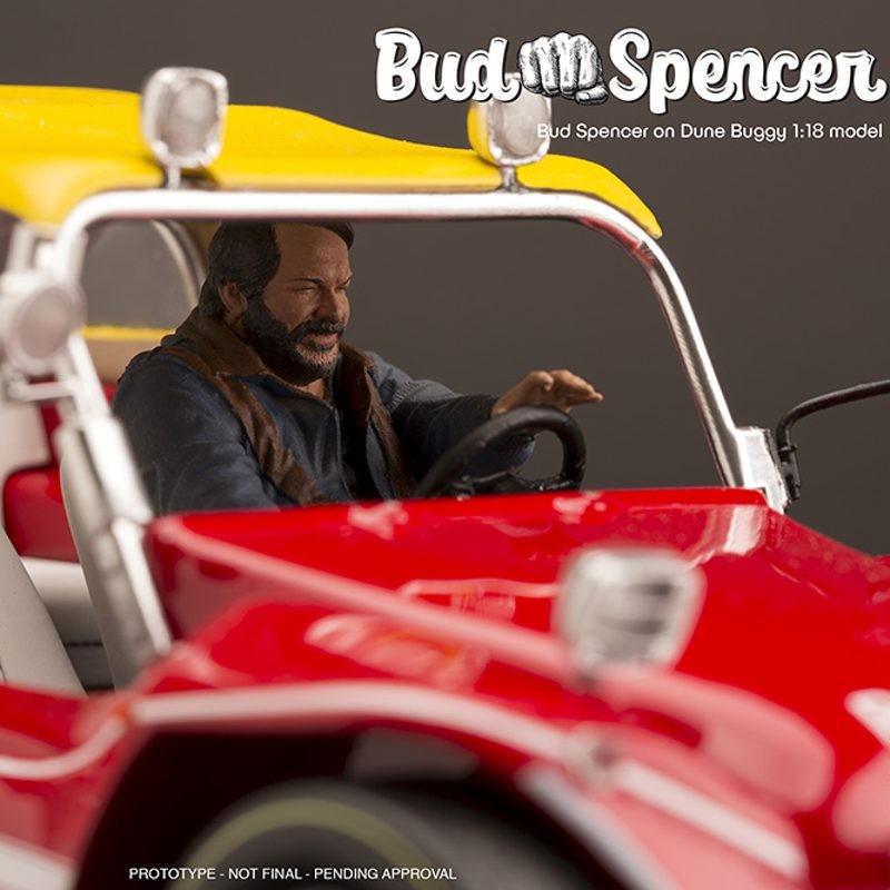 Bud Spencer on Dune Buggy - 1/18 Scale Resin Modell