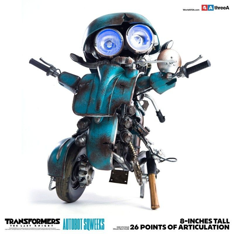 Autobot Sqweeks - Transformers The Last Knight - 1/6 Scale Action Figur