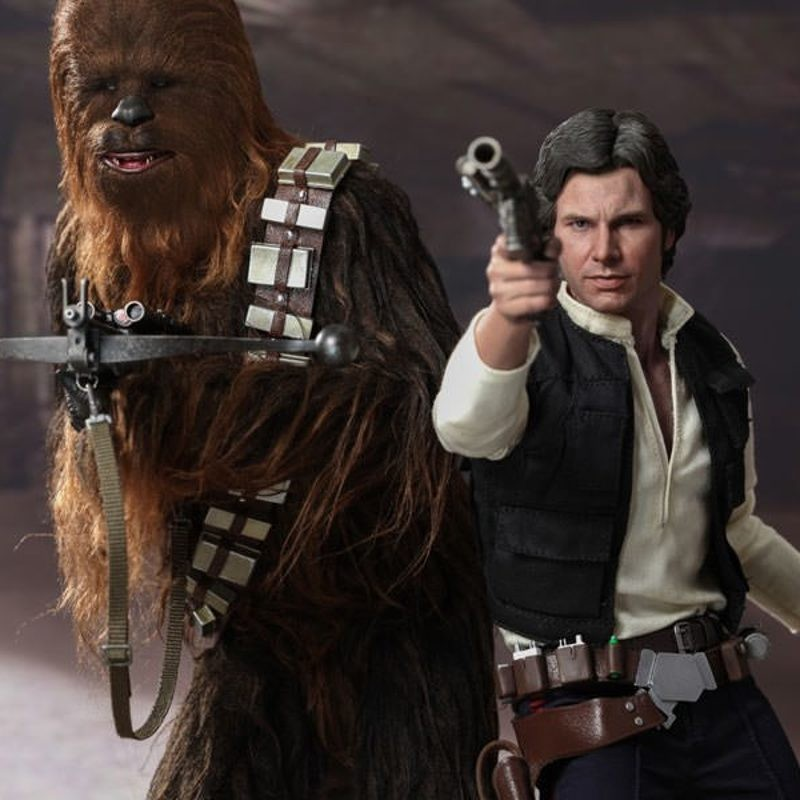 Han Solo & Chewbacca - Star Wars - 1/6 Figuren Set