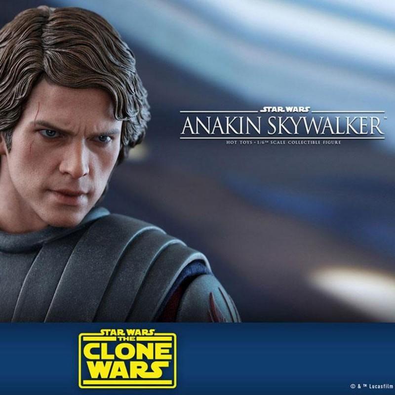 Anakin Skywalker - Star Wars The Clone Wars - 1/6 Scale Figur