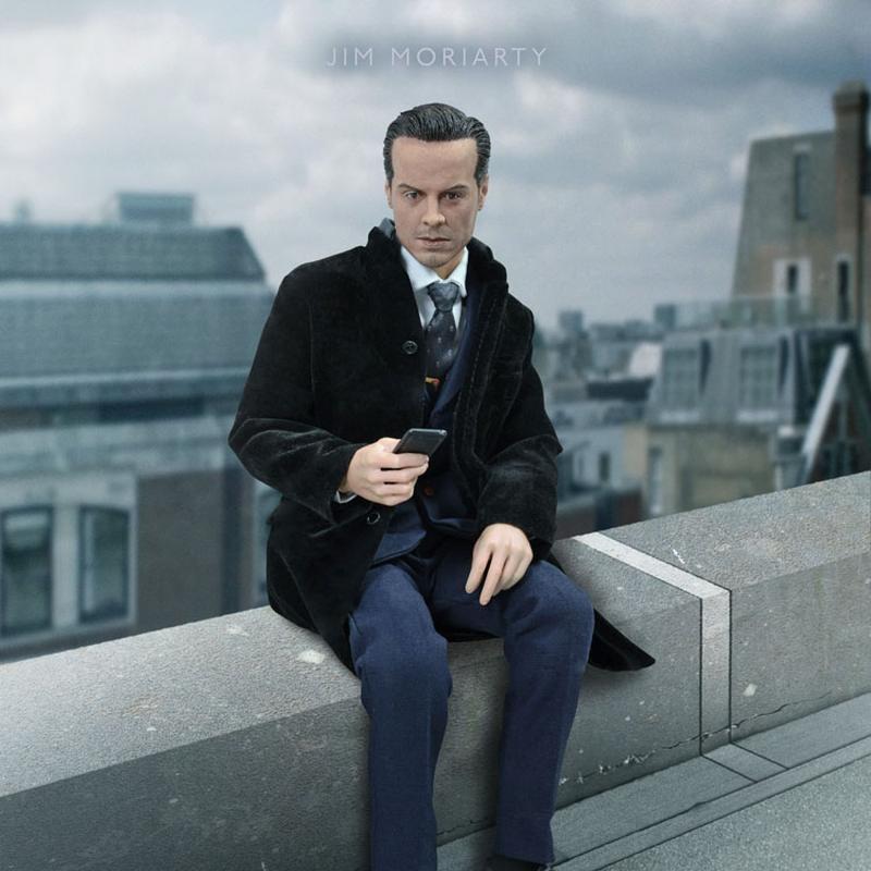 Jim Moriart - Sherlock - 1/6 Scale Figur