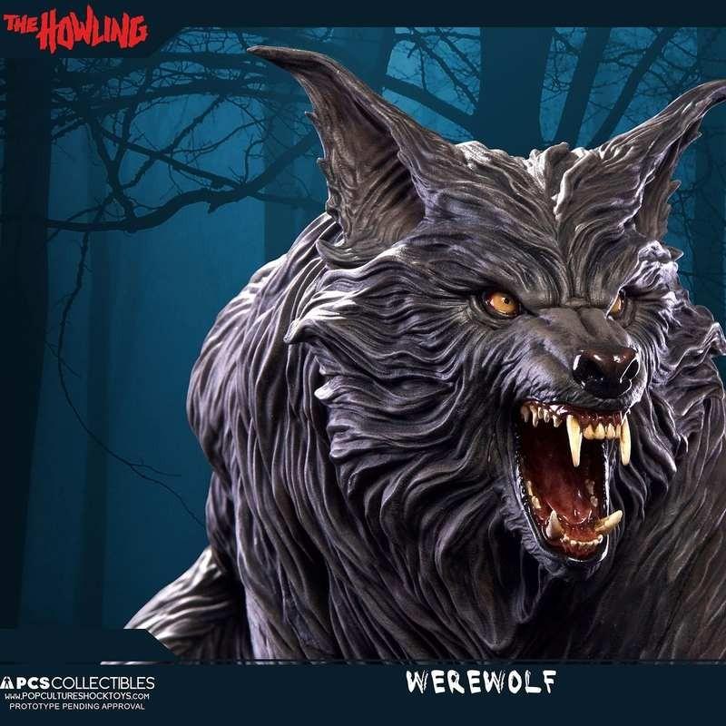 Werwolf - Das Tier - 1/4 Scale Statue