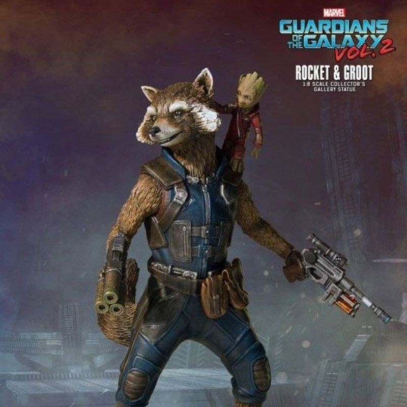 Rocket & Groot - Guardians of the Galaxy - Collectors Gallery Statue