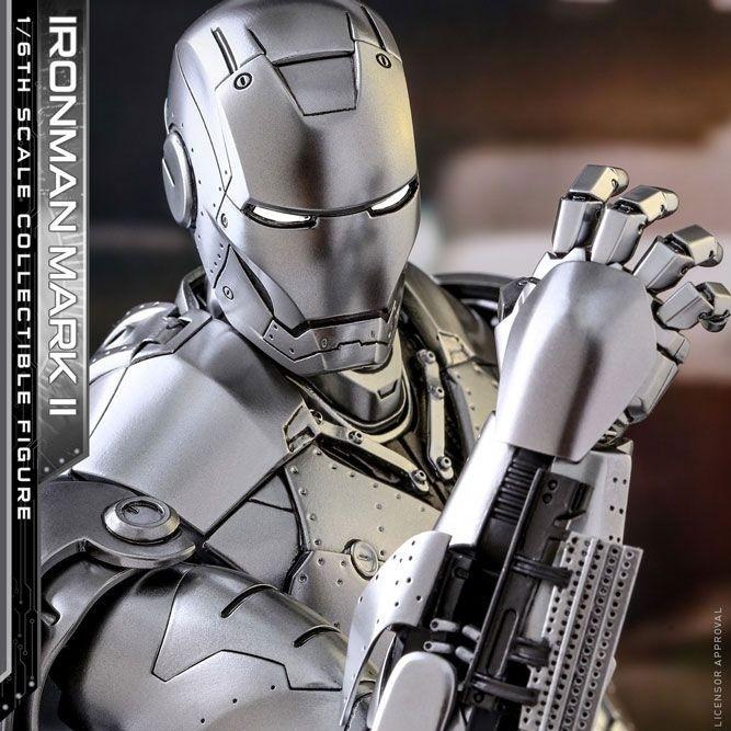 Iron Man Mark II - Iron Man - Diecast 1/6 Scale Figur