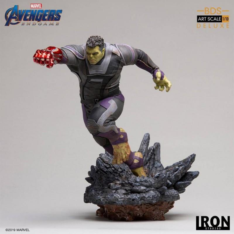 Hulk Deluxe Version - Avengers: Endgame - BDS Art 1/10 Scale Statue