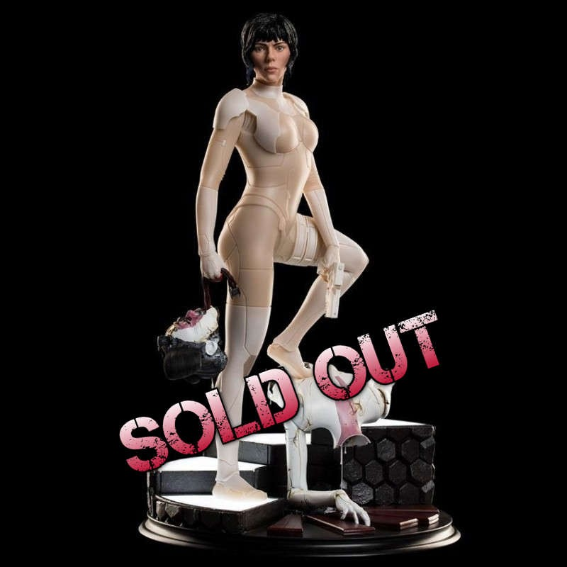 The Major - Ghost in the Shell - 1/4 Scale Statue