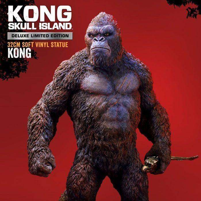 Kong Deluxe Version - Kong Skull Island - Soft Vinyl Statue