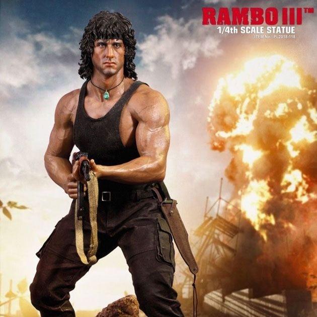 Rambo - Rambo 3 - 1/4 Scale Premium Statue