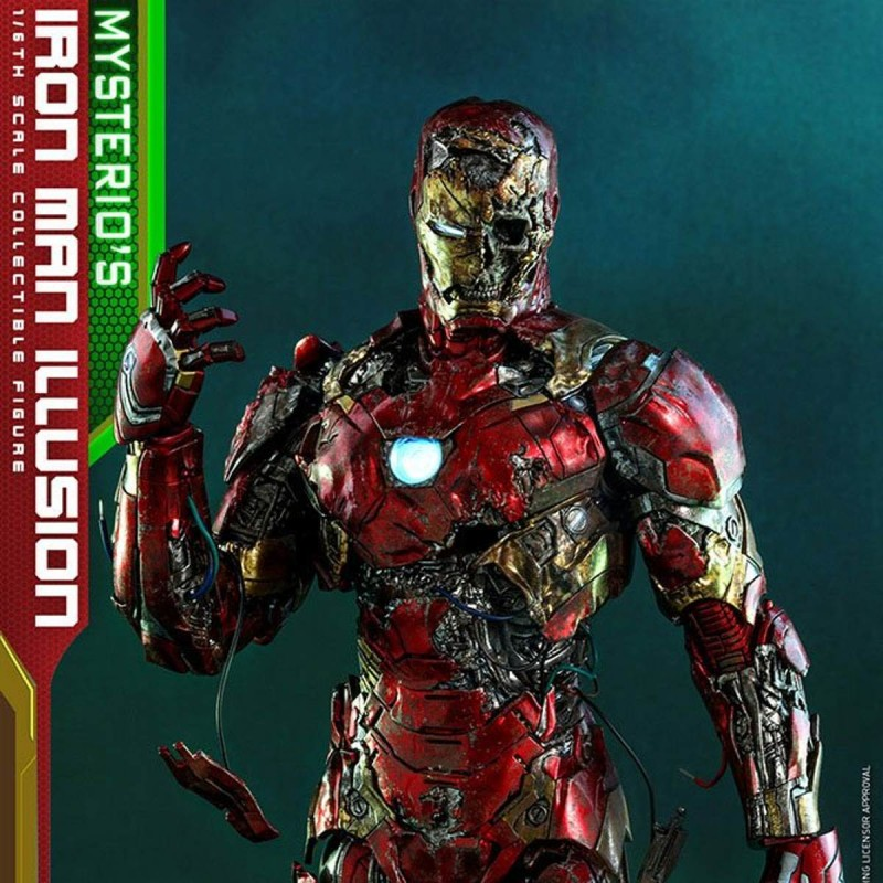 Mysterio's Iron Man Illusion - Spider-Man: Far From Home - 1/6 Scale Figur