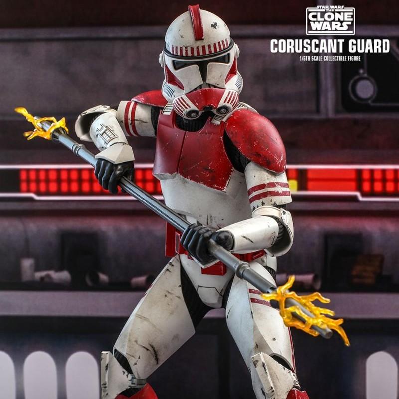 Coruscant Guard - Star Wars The Clone Wars - 1/6 Scale Figur
