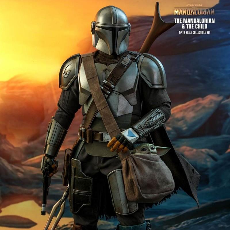 The Mandalorian & The Child - Star Wars The Mandalorian - 1/4 Scale Figur