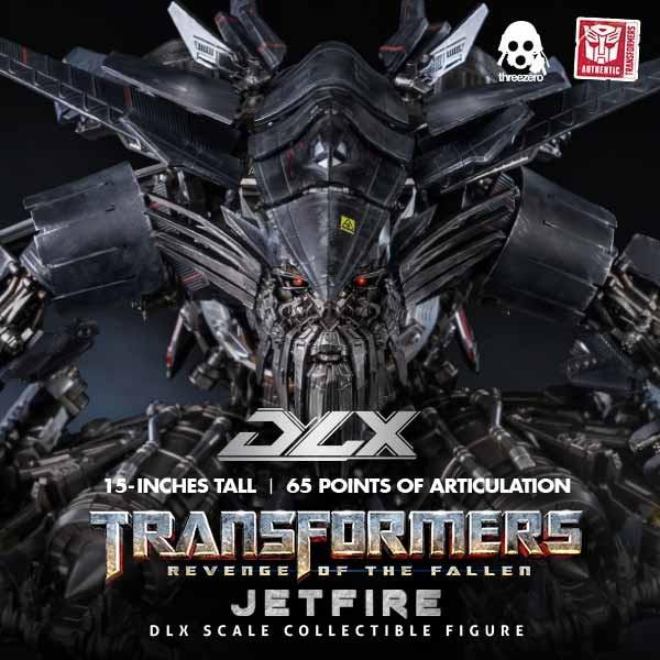 Jetfire - Transformers Revenge of the Fallen - DLX Scale Actionfigur