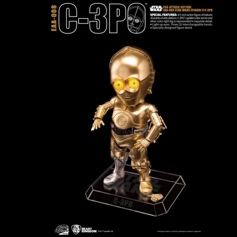C-3PO - Star Wars - Egg Attack Actionfigur