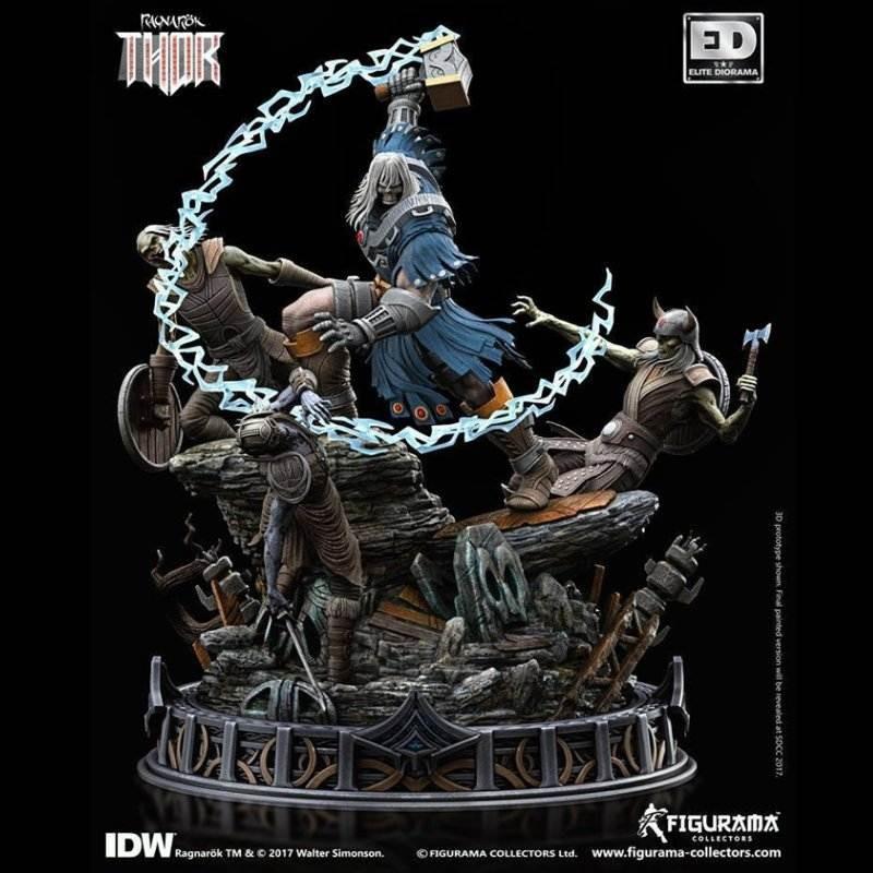 Ragnarök Thor - Diorama Statue 46 cm