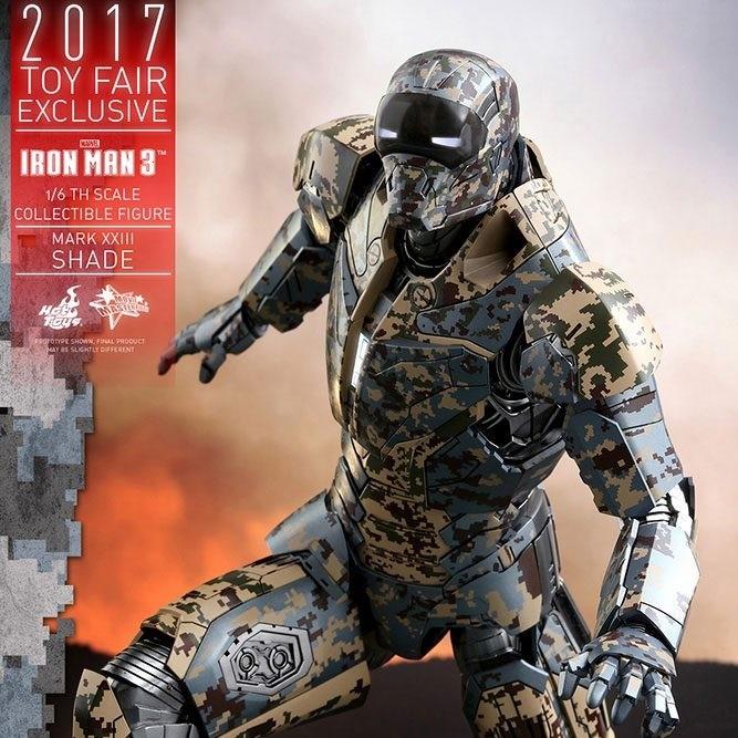 Iron Man Mark XXIII (Shades) - Iron Man 3 - 1/6 Scale Figur