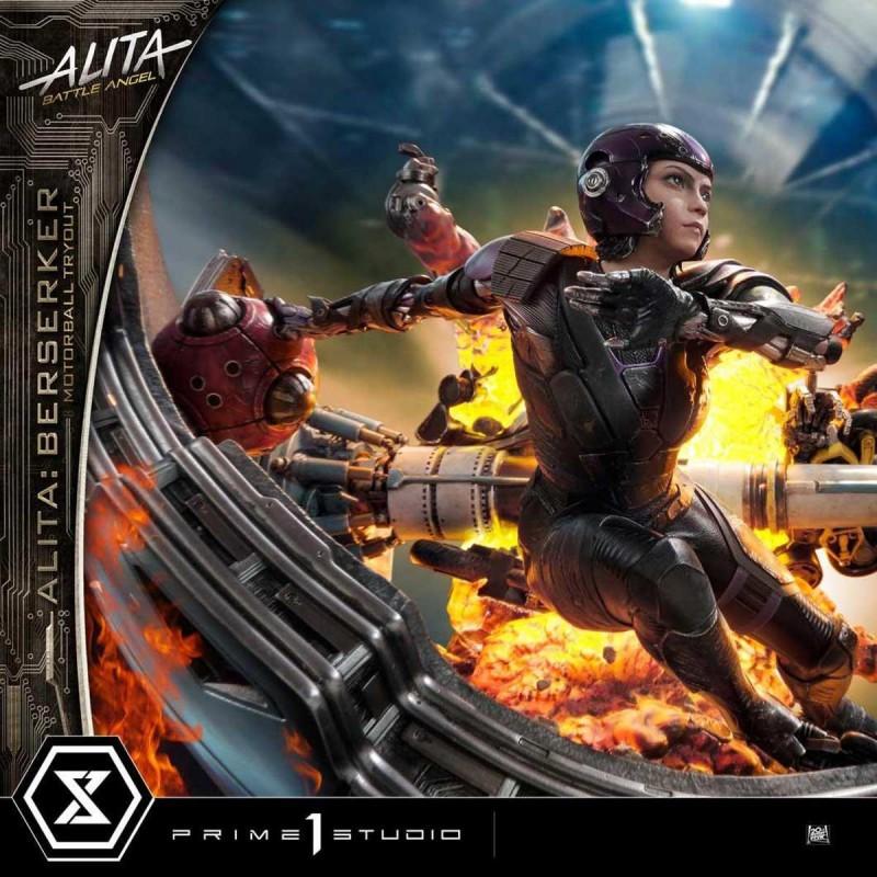 Alita Berserker Motorball Tryout (Bonus Version) - Alita: Battle Angel - 1/4 Scale Polystone Statue