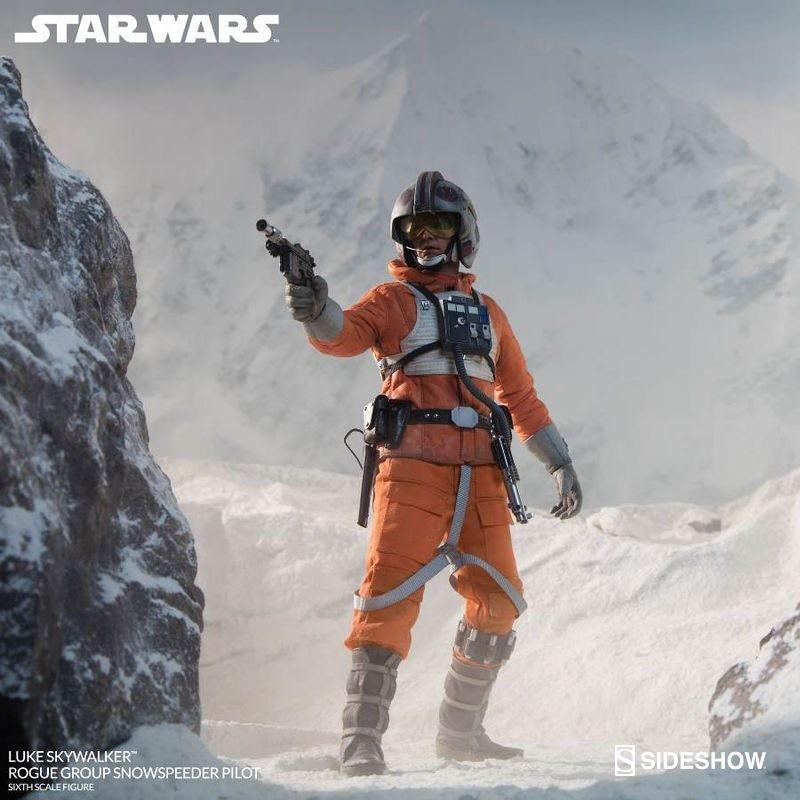Luke Skywalker Rogue Group Snowspeeder Pilot - Star Wars - 1/6 Scale Figur