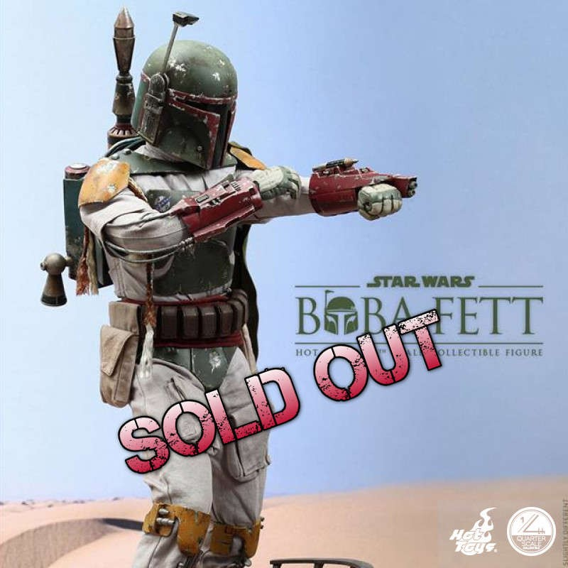 Boba Fett - Star Wars - 1/4 Scale Collectible Figur