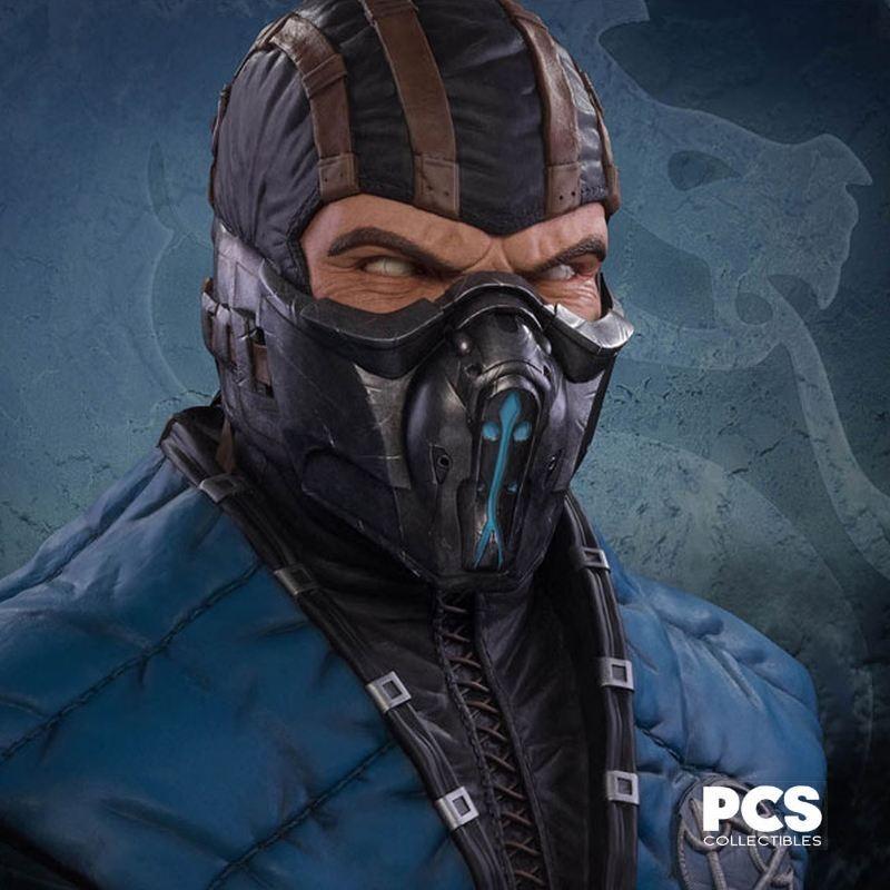 Sub-Zero - Mortal Kombat X - 1/1 Life Size Bust