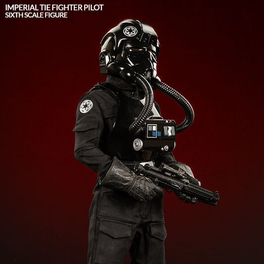 Imperial TIE Fighter Pilot - Star Wars - 1/6 Scale Figur