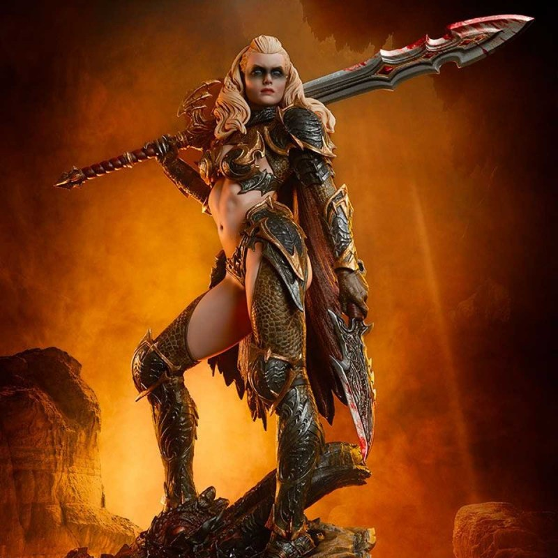 Dragon Slayer: Warrior Forged in Flame - Sideshow Originals - Polystone Statue