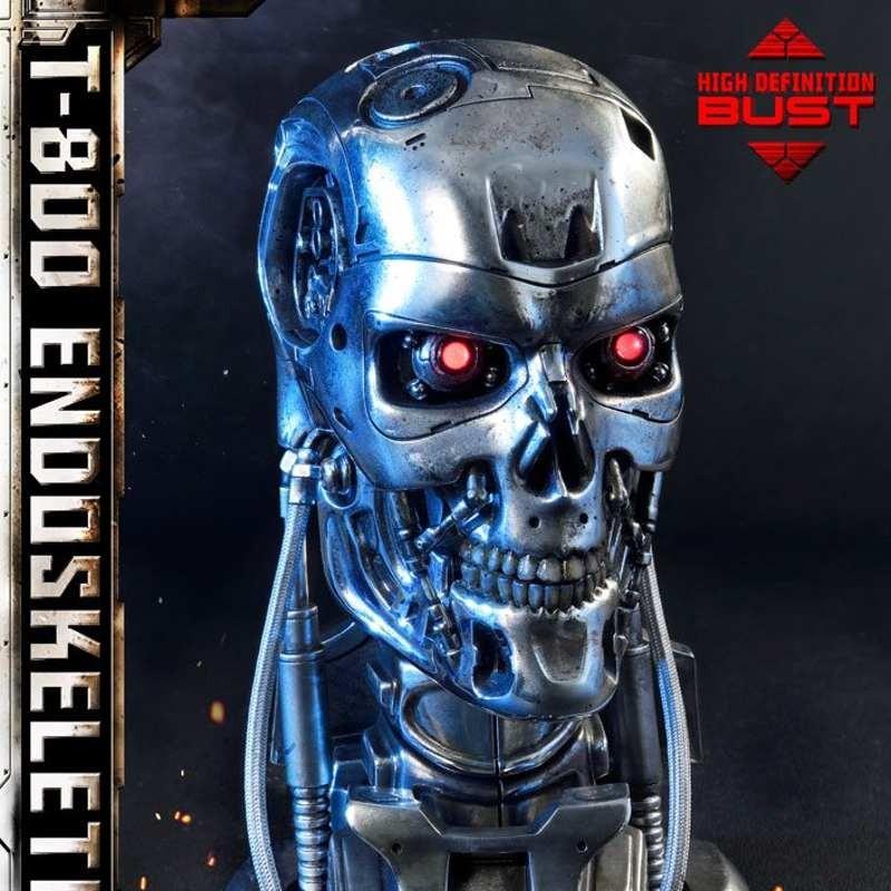 T-800 Endoskeleton Head - Terminator - 1/2 Scale Büste