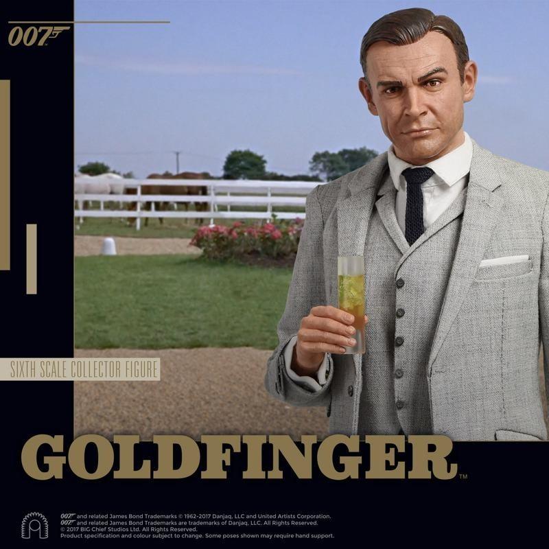 James Bond (Grey Suit) - James Bond Goldfinger - 1/6 Scale Figur