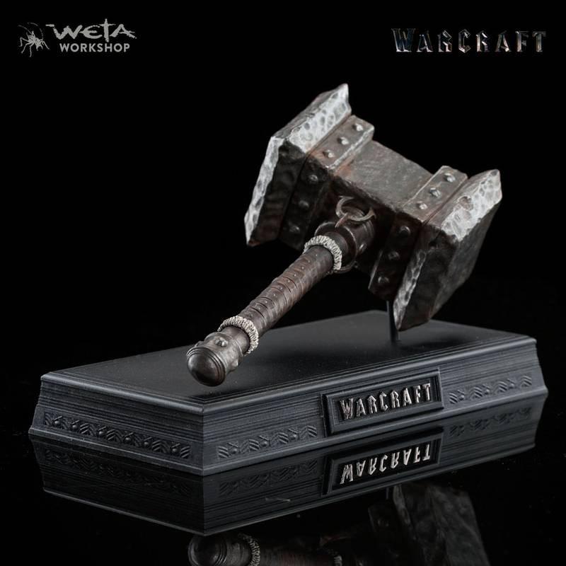 Orgrim's Doomhammer - Warcraft - 1/6 Replik