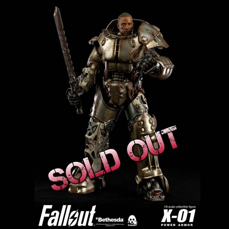 X-01 Power Armor - Fallout - 1/6 Scale Action Figur