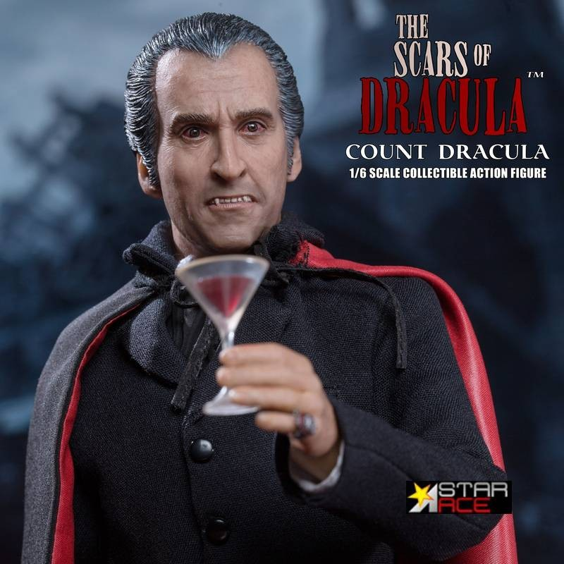 Count Dracula (Christopher Lee) - Dracula - 1/6 Scale Actionfigur