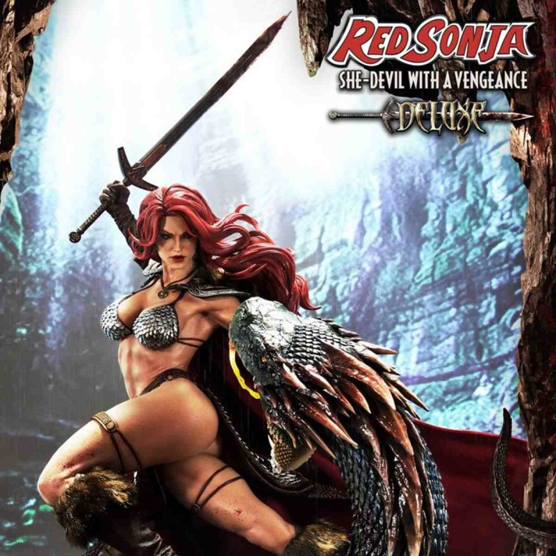 Red Sonja She-Devil with a Vengeance Deluxe Version - Red Sonja - 1/3 Museum Masterline Statue