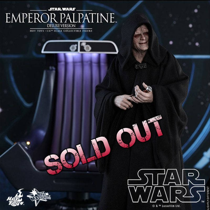 Emperor Palpatine Deluxe Version - Star Wars Episode VI - 1/6 Scale Figur