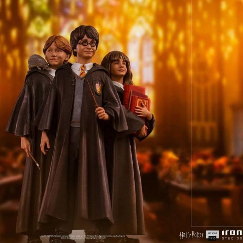 Harry, Ron und Hermine - Harry Potter - 1/10 Art Scale Statuen Set
