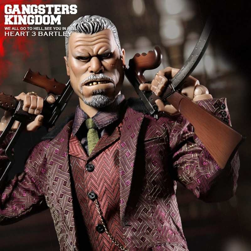 Heart 3 Bartley - Gangster's Kingdom - 1/6 Scale Actionfigur