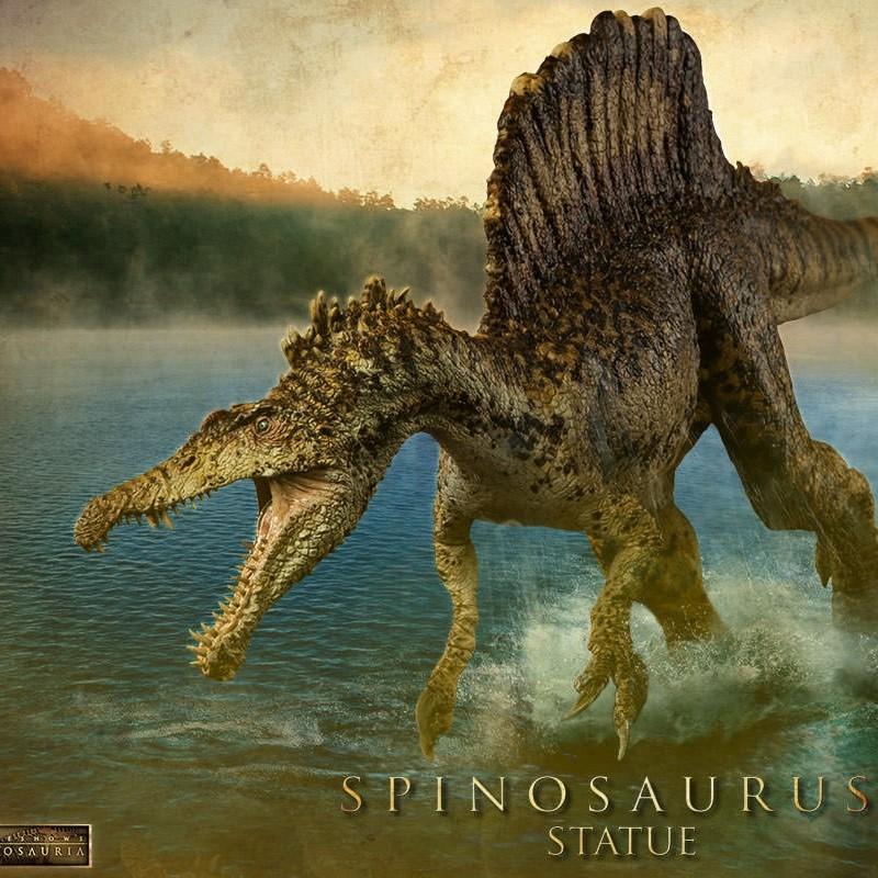 Spinosaurus - Dinosaurier - Polystone Statue