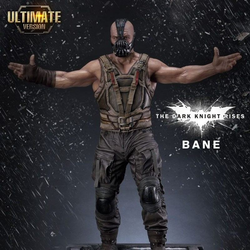 Bane Ultimate Edition Set - The Dark Knight Rises - 1/3 Scale Museum Masterline Statue