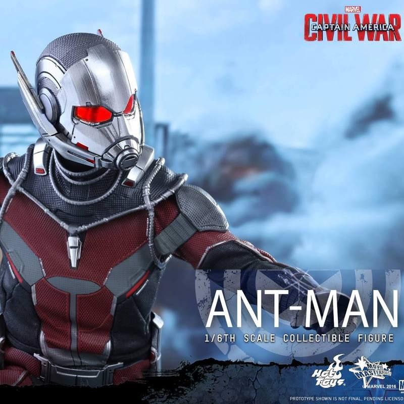 Ant-Man - Civil War - 1/6 Scale Action Figur