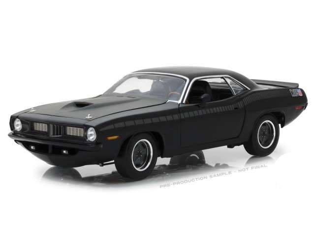Custom Plymouth Barracude - Fast & Furious - Diecast Modell 1/18