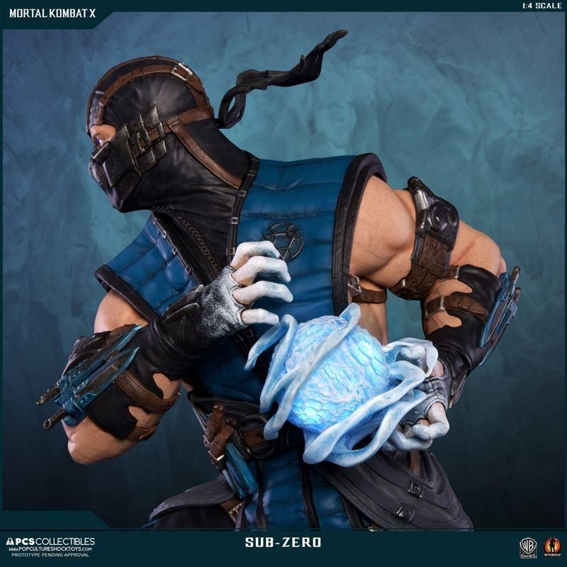 Sub-Zero - Mortal Kombat - 1/4 Scale Regular Statue