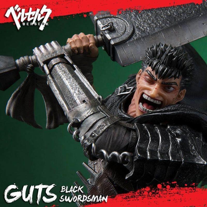 Guts Black Swordsman - Berserk - Polystone Statue