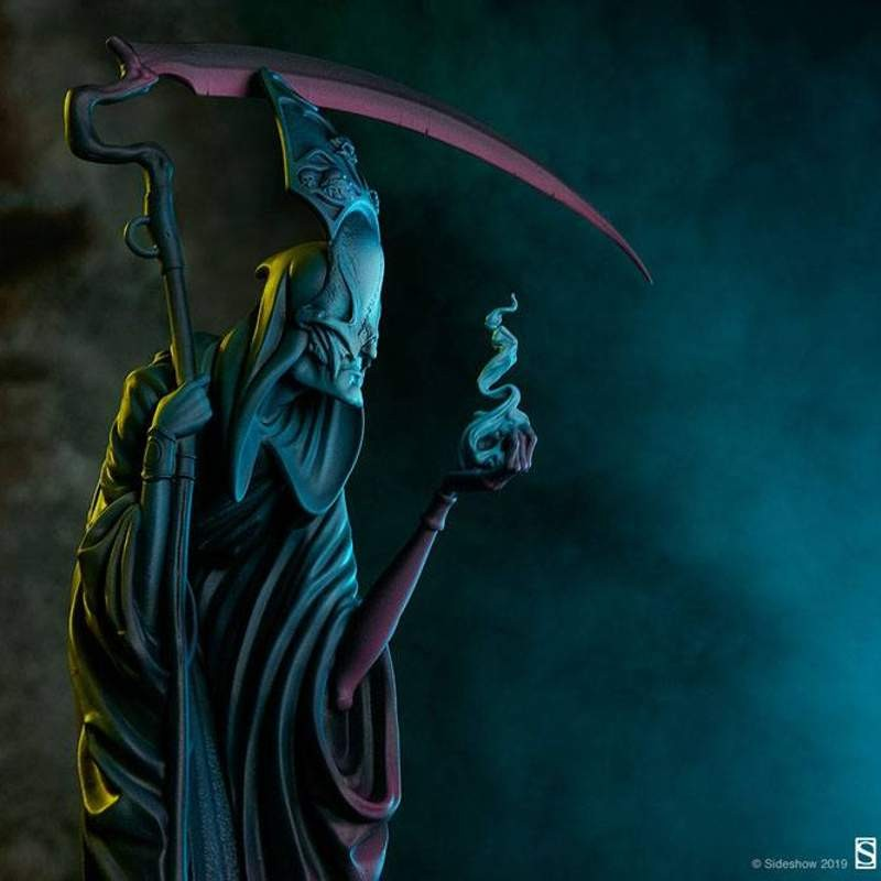 Death: The Curious Shepherd - Court of the Dead - Polystone Statue