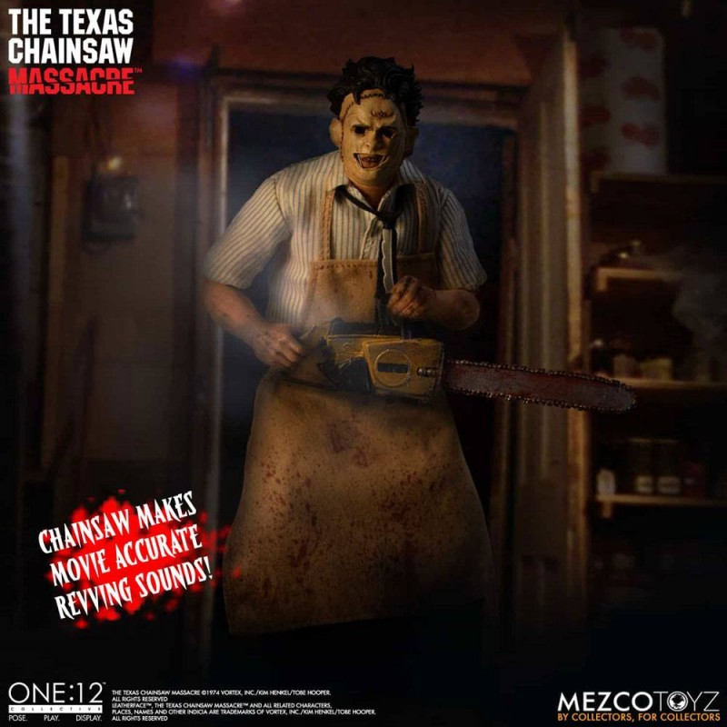 Leatherface Deluxe Edition - Texas Chainsaw Massacre - 1/12 Scale Figur