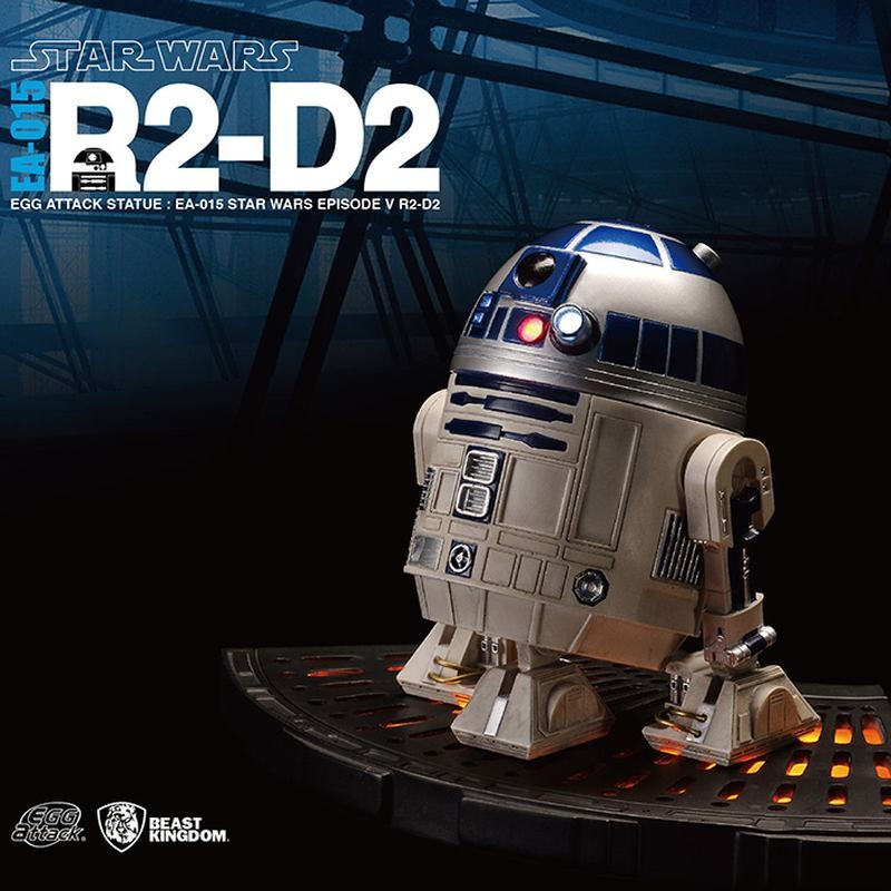 R2-D2 - Star Wars - Egg Attack Statue