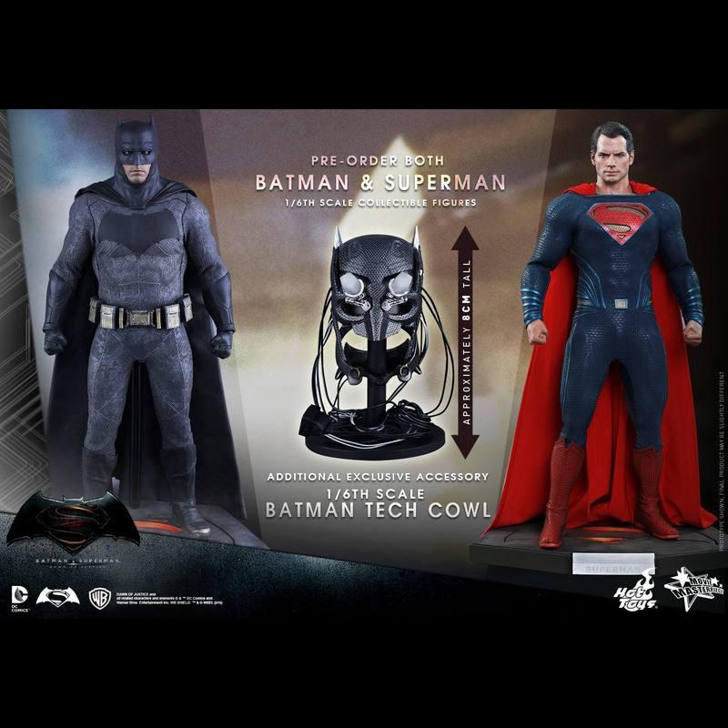 Batman und Superman - Batman v Superman - 1/6 Scale Figuren Set