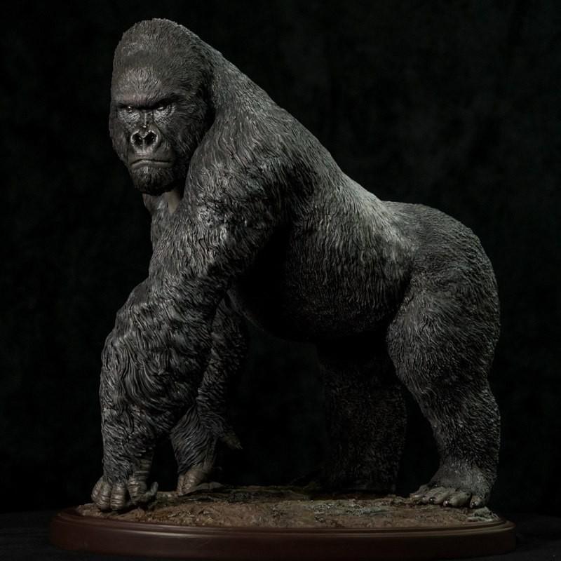 Gorilla beringei - Museum Series - 1/4 Scale Statue