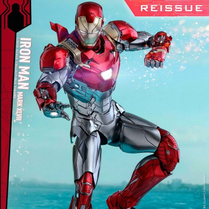 Iron Man Mark XLVII - Spider-Man Homecoming - Diecast 1/6 Scale Figure